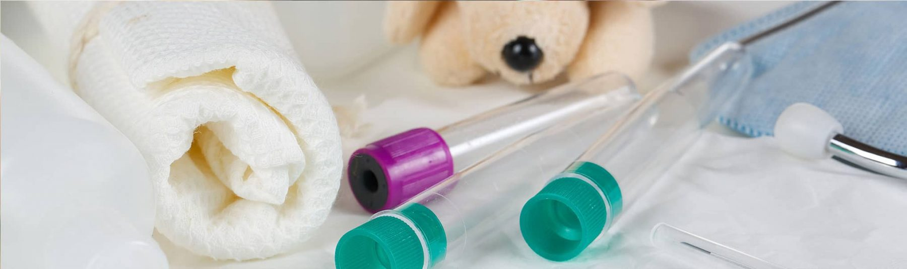 Tools for blood test and dog toy